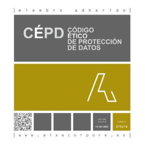 Nuestra web cumple con el Código Ético de Protección de datos de Aixacorpore